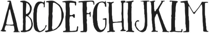 Alice Light otf (300) Font LOWERCASE
