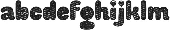 Aliengo otf (400) Font LOWERCASE