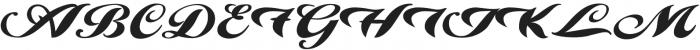 Alire script otf (400) Font UPPERCASE