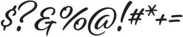 Alisha otf (400) Font OTHER CHARS