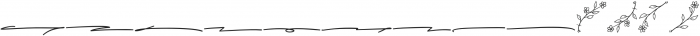 Alistair Signature Extras Ornament otf (400) Font LOWERCASE