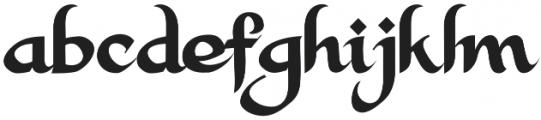 Alkhalam Regular otf (400) Font LOWERCASE