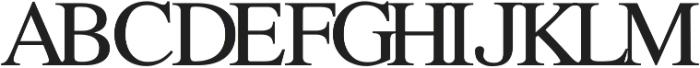 All Formal Monogram by Kestrel Montes ttf (400) Font UPPERCASE