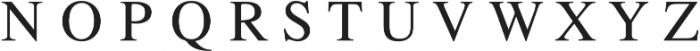 All Formal Monogram by Kestrel Montes ttf (400) Font LOWERCASE