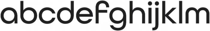 All Round Gothic Medium otf (500) Font LOWERCASE
