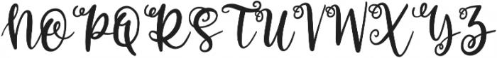 Allegory otf (400) Font UPPERCASE
