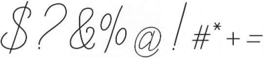 Allexandrea otf (400) Font OTHER CHARS