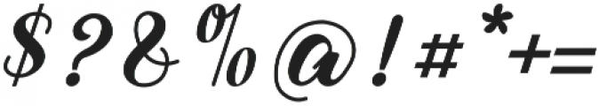 Alleyster otf (400) Font OTHER CHARS