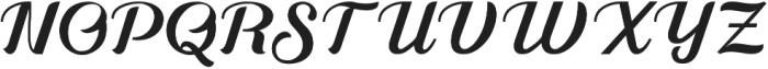 Alleyster otf (400) Font UPPERCASE