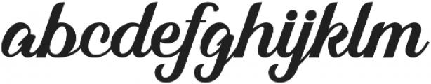 Alleyster otf (400) Font LOWERCASE