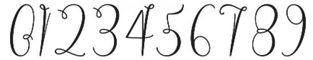 Alligature Script Regular otf (400) Font OTHER CHARS