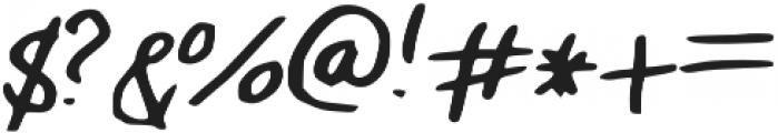 Allison_s_Marker otf (400) Font OTHER CHARS