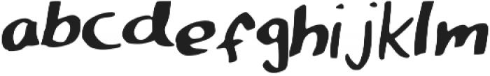 Allison_s_Marker otf (400) Font LOWERCASE