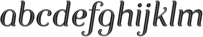 Allora Display otf (400) Font LOWERCASE
