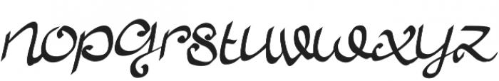 Allura Script otf (400) Font LOWERCASE