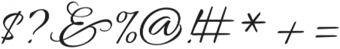 AlluraFormal otf (400) Font OTHER CHARS