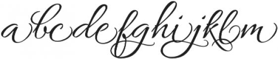AlluraFormal otf (400) Font LOWERCASE