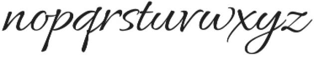 AlluraRegular otf (400) Font LOWERCASE