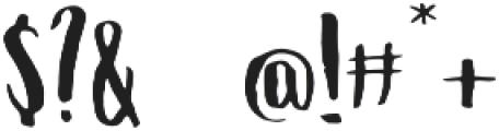 Allysa Script2 otf (400) Font OTHER CHARS
