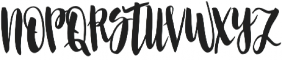 Allysa Script2 otf (400) Font UPPERCASE