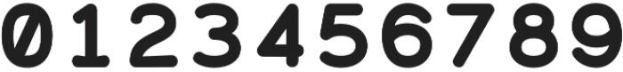 Alma Mono Heavy otf (800) Font OTHER CHARS