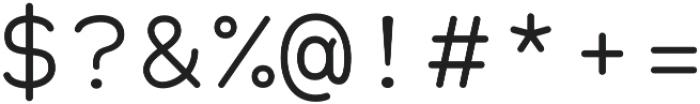 Alma Mono otf (400) Font OTHER CHARS