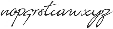 Almairah 01 otf (400) Font LOWERCASE