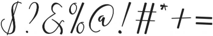 Almera Initial Swash otf (400) Font OTHER CHARS