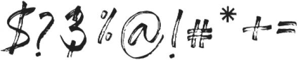 Almirra Script Regular otf (400) Font OTHER CHARS