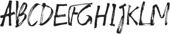 Almirra Script Regular otf (400) Font UPPERCASE