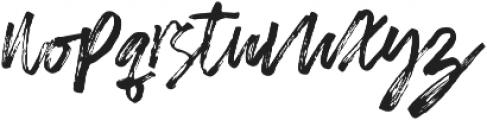 Almirra Script Regular otf (400) Font LOWERCASE