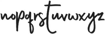 Almond ttf (400) Font LOWERCASE