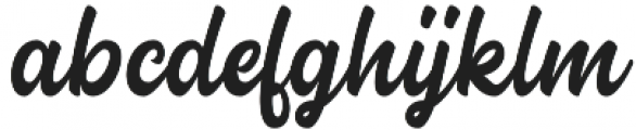 Almonde Script otf (400) Font LOWERCASE