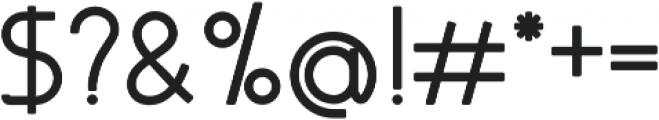 Almondia otf (500) Font OTHER CHARS