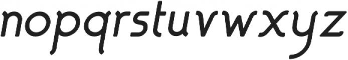 Almondia otf (700) Font LOWERCASE