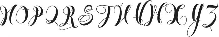 Almondtree VMF otf (400) Font UPPERCASE