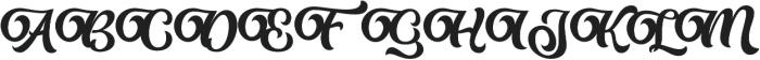Almost Lover Script otf (400) Font UPPERCASE