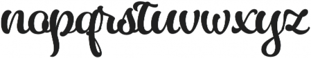 Almost Lover Script otf (400) Font LOWERCASE