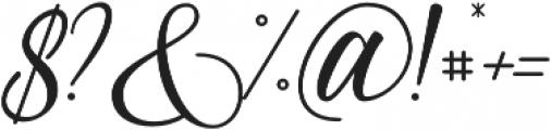 Almyra otf (400) Font OTHER CHARS