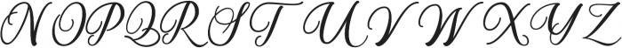 Almyra otf (400) Font UPPERCASE