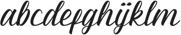 Almyra otf (400) Font LOWERCASE