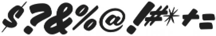 Aloha Script Casual Regular otf (400) Font OTHER CHARS