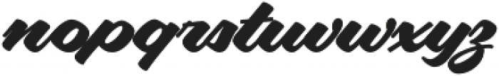 Aloha Script Casual Regular otf (400) Font LOWERCASE