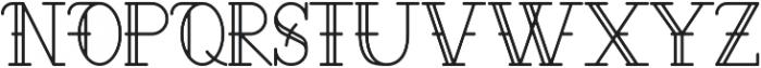 Aloha ttf (400) Font UPPERCASE
