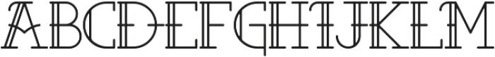 Aloha ttf (400) Font LOWERCASE