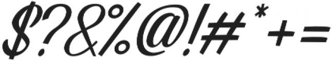 Alpenable Slant otf (400) Font OTHER CHARS
