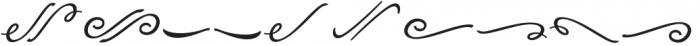 Alpenable swash otf (400) Font LOWERCASE