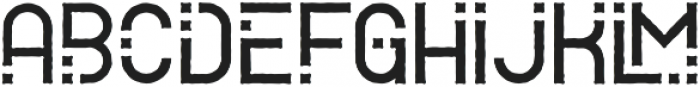Alpha RoughTwo otf (400) Font LOWERCASE
