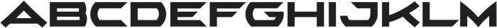 AlphaEcho Plain otf (400) Font UPPERCASE