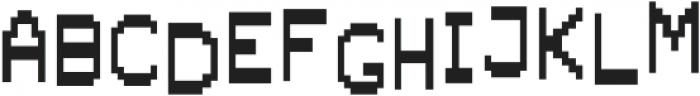AlphaFoxBumpy AlphaFoxBumpy otf (400) Font UPPERCASE